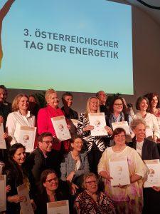 2. Österreicher Tag der Energetik - Teilnehmer mit Urkunde