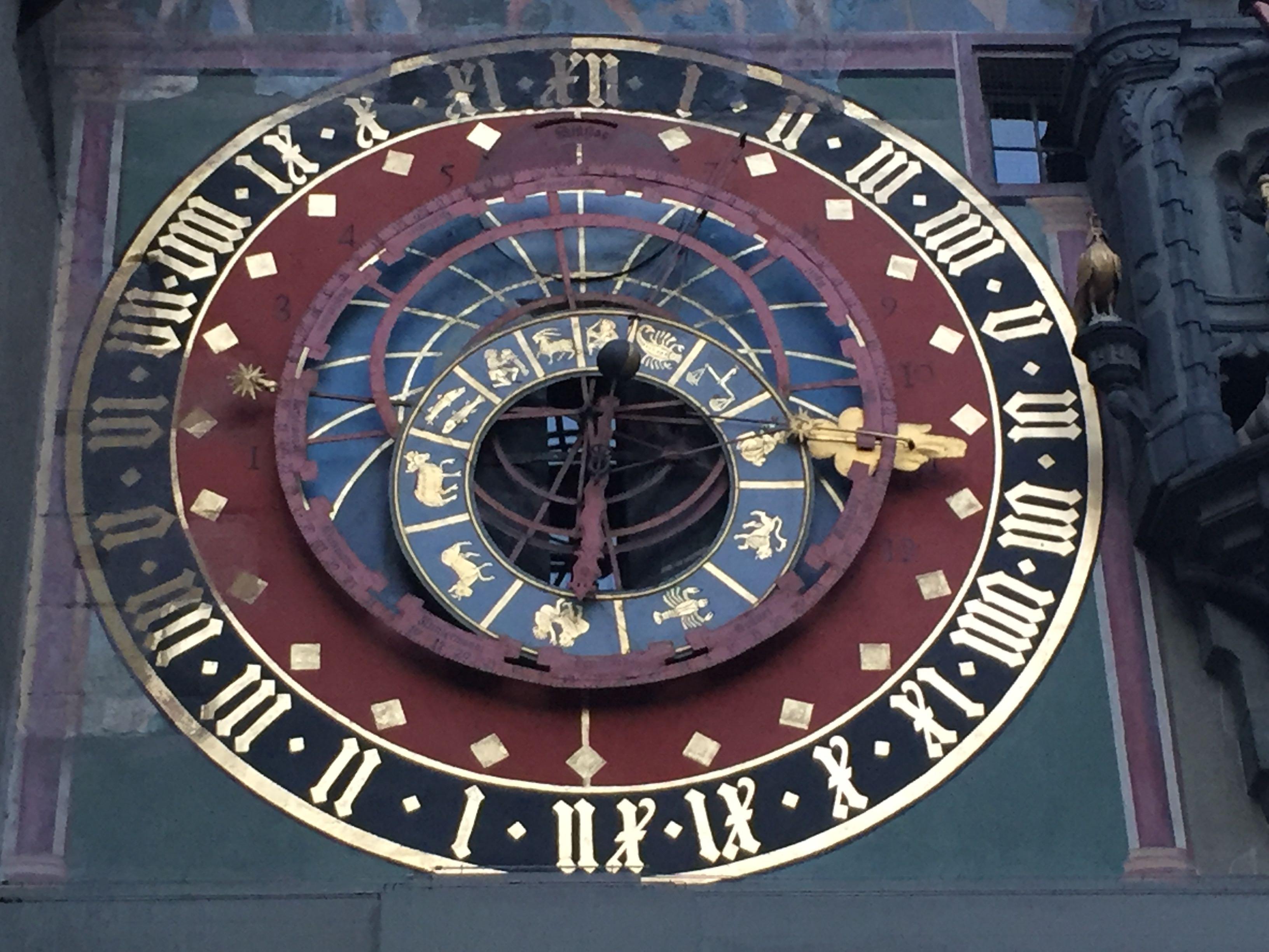Uhr mir Tierkreiszeichen