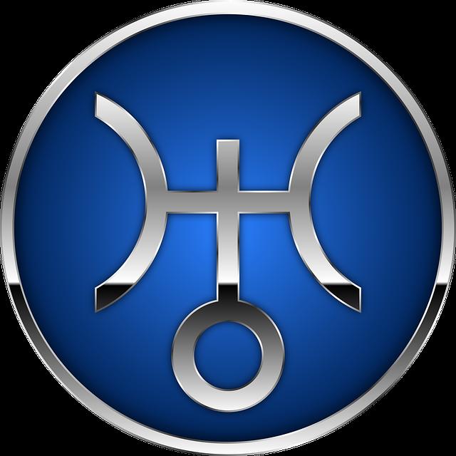 Astrologisches Zeichen für Uranus